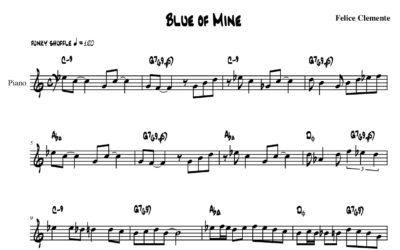 Blue of Mine